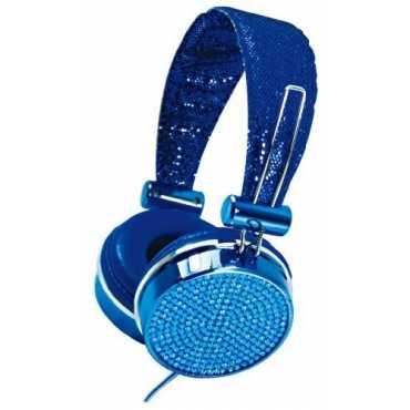 Hype Jewel HY-955 On the Ear Headset - Blue