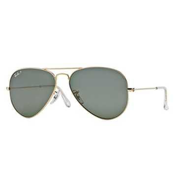 Aviator Sunglasses (Gold) (RB3025|001/58|58)