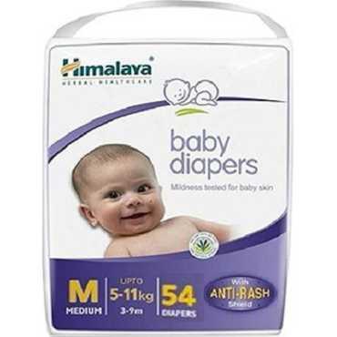 Himalaya Baby Diapers Medium 54 Pieces