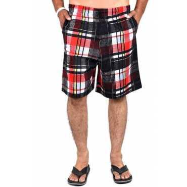 Printed Men's Multicolor Beach Shorts
