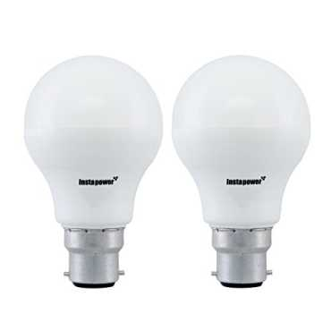 Instapower 7W B22 Cool Day Light LED Bulb (Pack of 2)