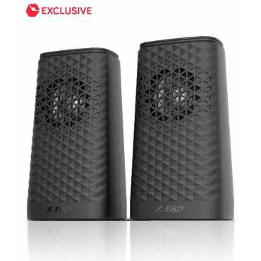F&D V320 2.0 Computer Speakers - Black