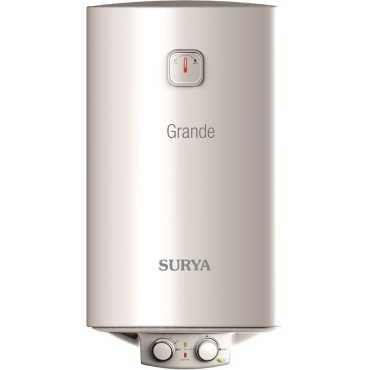 Surya Grande 15 Litre Storage Water Geyser - White