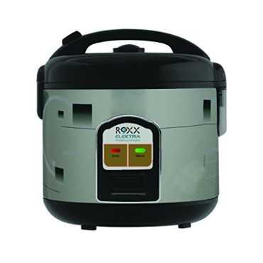 Roxx Voila 1.8 Litre Electric Rice Cooker - White