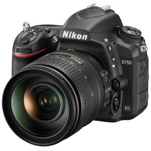 Nikon D750 (with 24-120mm VR Lens Kit)DSLR Camera - Black