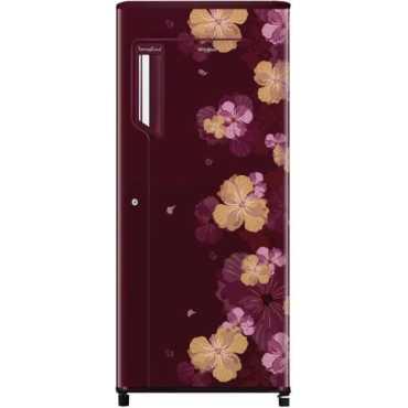 Whirlpool 205 IMPW COOL PRM 4S 190L Direct Cool Single Door 4S Refrigerator (Wine Azalea)