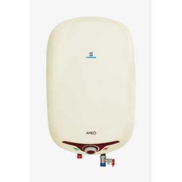 Standard Ameo 15 L Storage Water Geyser - White | Red