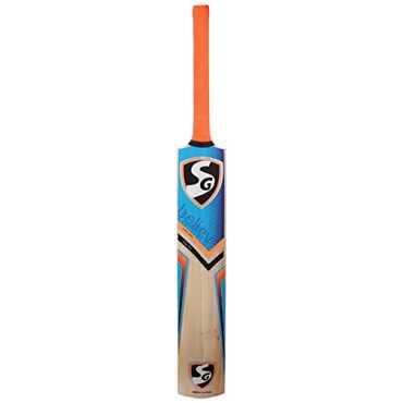 SG RSD Plus Kashmir Willow Cricket Bat (Size 4) - Blue