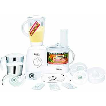 Inalsa Wonder Maxie Pro 600W Food Processor - White