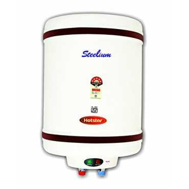 Hotstar Steelium 35 Litres Storage Water Geyser - White