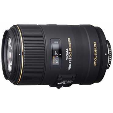 Sigma 105 mm F2 8 EX DG OS HSM Lens For Nikon