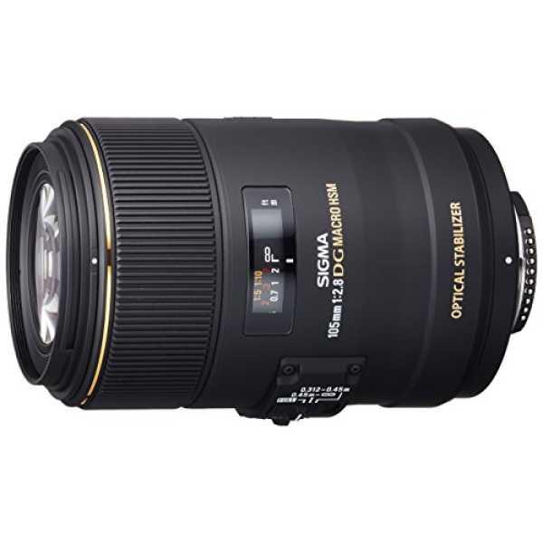 Sigma 105 mm  F2.8 EX DG OS HSM Lens (For Nikon)