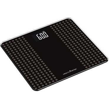 Health Sense PS 117 Glass Top Digital Weighing Scale - Grey