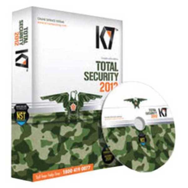 K7 Total Security 2012 5 PC 1 Year Antivirus