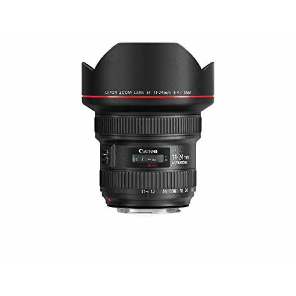 Canon EF 11-24mm f/4L USM Lens - Black