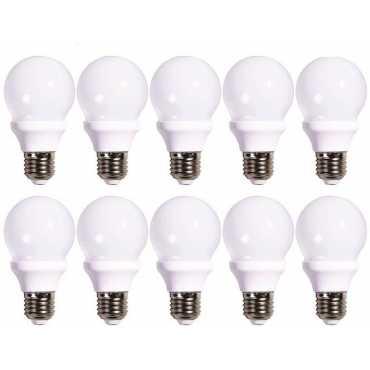 STARCO 5W E27 Globe LED Bulb Yellow Pack of 10