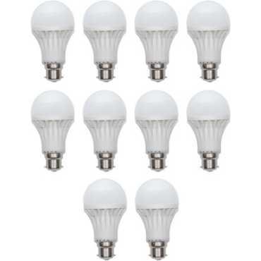 Ave 3W LED Bulbs (White, Pack of 10) - White