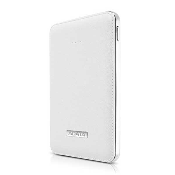 AData 5100mAh Power Bank - White