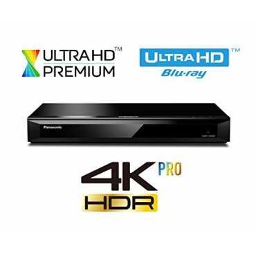 Panasonic DMP-UB400 4K Ultra HD Blu-Ray Video Player