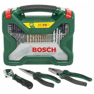 Bosch 2607017197 Drill bits and Screwdriver set - Green