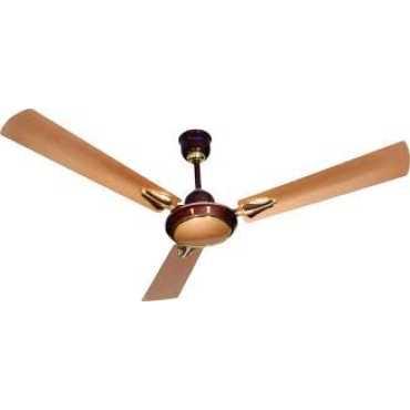 Lazer Ortan 3 Blade (1200mm) Ceiling Fan - Brown