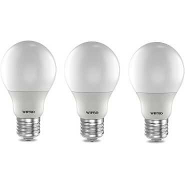 Wipro Garnet 9W Standard E27 LED Bulb White Pack of 03