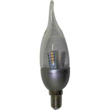 Samson 4W E27 Candle Yellow LED Bulb - Yellow