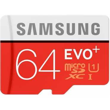 Samsung EVO Plus MB-MC64DA  64GB MicroSDXC Class 10 (80MB/s) Memory Card (With Adapter)