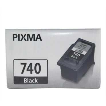Canon PG 740 Bk Black Ink Cartridge - Black
