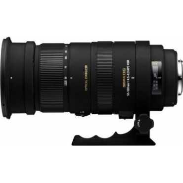 Sigma 50-500mm F/4.5-6.3 OS Lens (for Canon DSLR) - Black