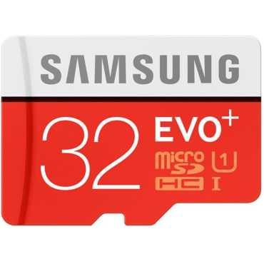 Samsung EVO Plus 32GB MicroSDHC Class 10 (80MB/s) Memory Card