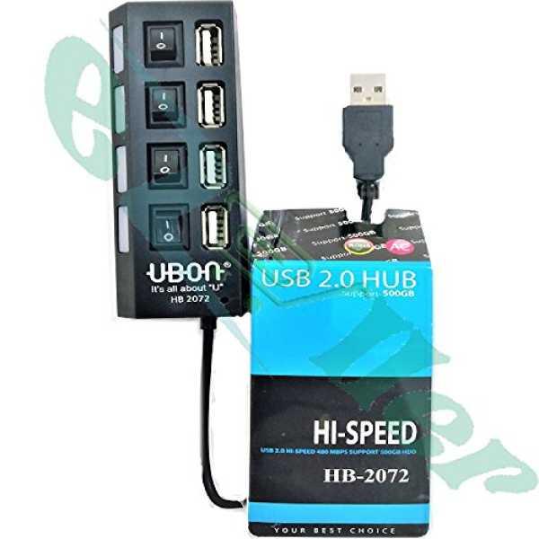 Ubon HB-2072 4 Port USB Hub