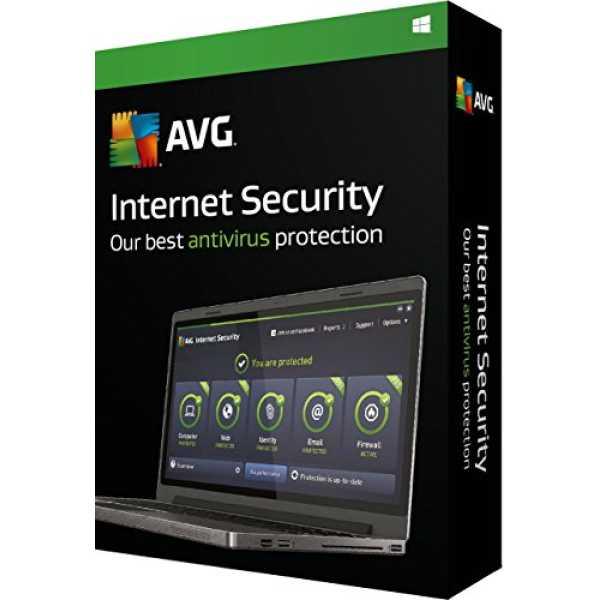 AVG Internet Security 2016 3PC 1Year