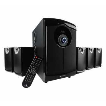 Zebronics SW9450RUCF 5.1 Multimedia Speaker System - Black