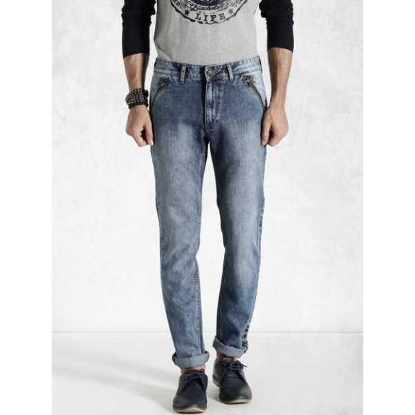 Slim Men's Blue Jeans