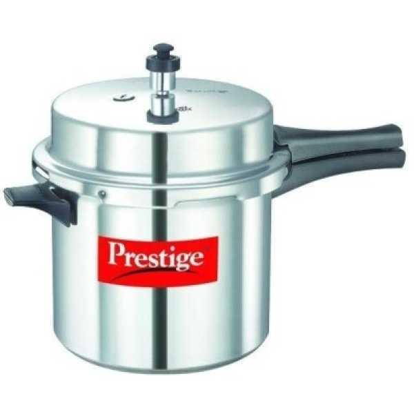Prestige 10020 Aluminium 6 L Pressure Cooker (Outer Lid)