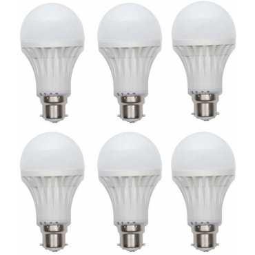Gs 6W B22 LED Bulb White Set of 6
