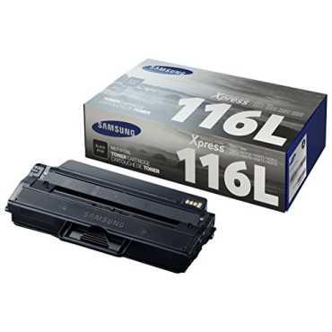 Samsung MLT D116L/XIP Black Mono Toner - Black   Pink