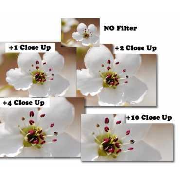 Omax 72mm Closeup Lens Filter Kit