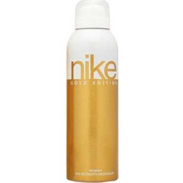 Nike Gold Deodorant for Women