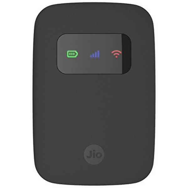 Reliance JIO JIOFI-3 (JMR540) 4G Router - Black