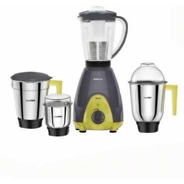 Havells GHFMGBJE060 600W Mixer Grinder (4 Jars) - Grey