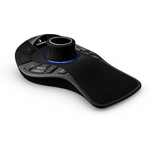 3D Connexion 3DX-700049 SpaceMouse Pro Wireless 3D Mouse