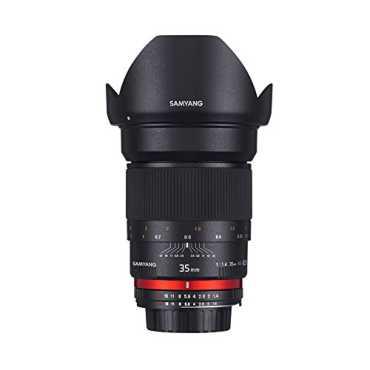 Samyang 35mm F1.4 AS UMC Prime Lens (For Canon)