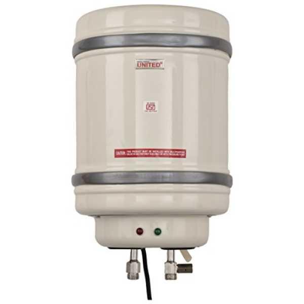 United ABS10LG 10L Storage Water Geyser - White