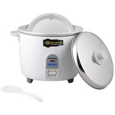 Panasonic SR WA18E 4.4 L Electric Rice Cooker - White