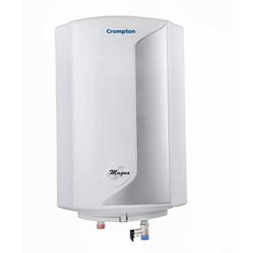 Crompton Greaves Magna SWH1010 10 Litres Storage Water Geyser - Grey | White