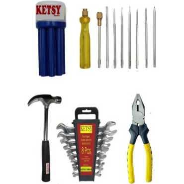 KETSY 804 Hand Tool Kit 19 Pieces