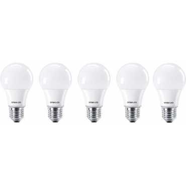 Syska SSK-SRL-7W 7W E27 LED Bulb White Pack of 5