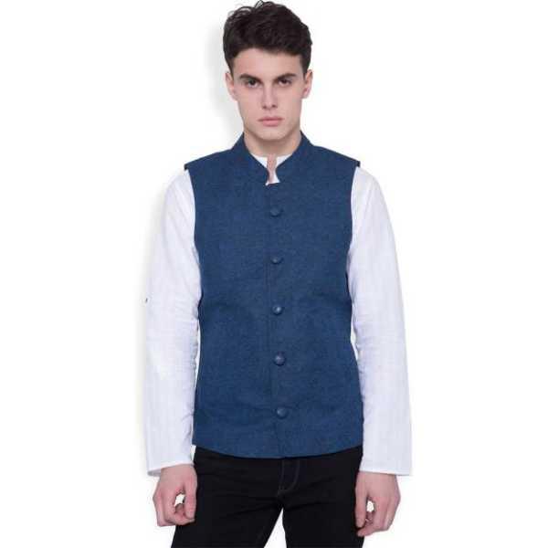 Svanik Printed Men's Waistcoat